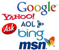 The top search engines